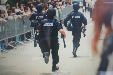 Chương trình âm nhạc tại Hàn Quốc phải di tản khán giả khẩn cấp vì bị doạ đánh bom