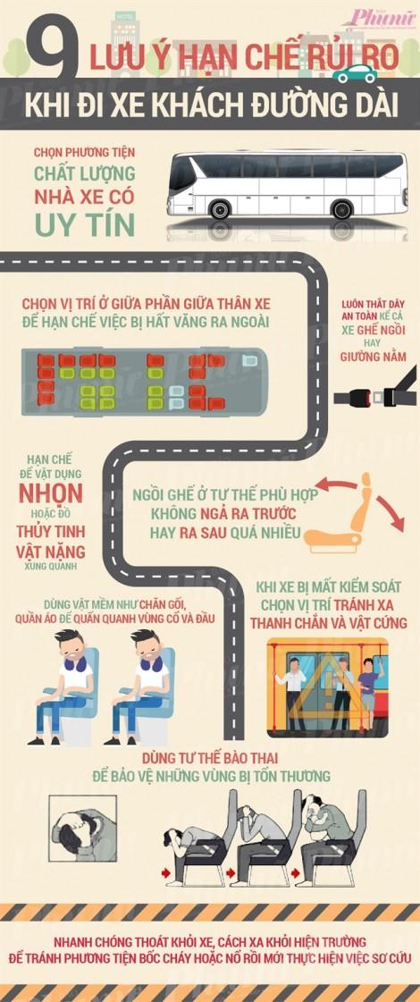 9 lưu ý khi đi xe khách đường dài
