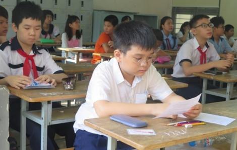 58 điểm mới trúng tuyển vào lớp 6 trường THPT chuyên Trần Đại Nghĩa