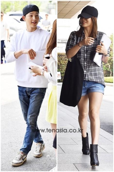 Song Hye Kyo - Song Jong Ki với gu thời trang đồng điệu từ phim ra đời