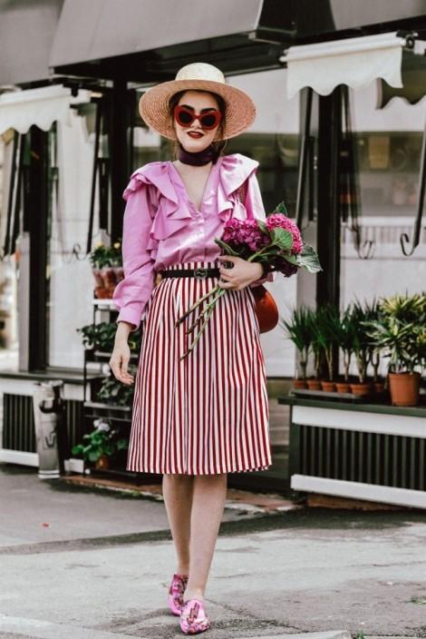 Thời trang màu hồng không 'bánh bèo' như bạn nghĩ