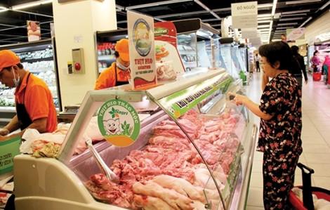 Thịt heo thảo mộc Sagri VietGAP khuyến mãi nhân dịp khai trương quầy thịt tươi sống tại Co.opfood Bình Hưng