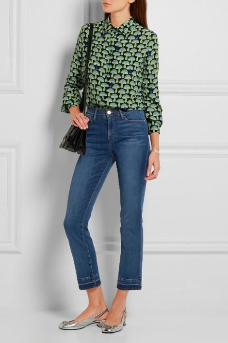 Phối giày sành điệu với 5 mẫu quần jeans thông dụng