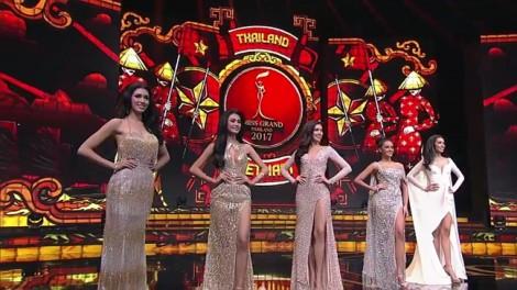 Quốc kì, áo dài Việt được mang lên sân khấu trao giải Hoa hậu Hoà bình Thái Lan 2017