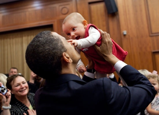Barack Obama la vi tong thong yeu tre nho nhat moi thoi dai