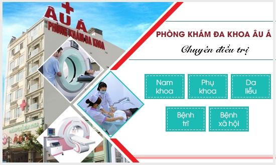 Phong Kham Da Khoa Au A: Dia chi kham nam khoa uy tin tai TPHCM