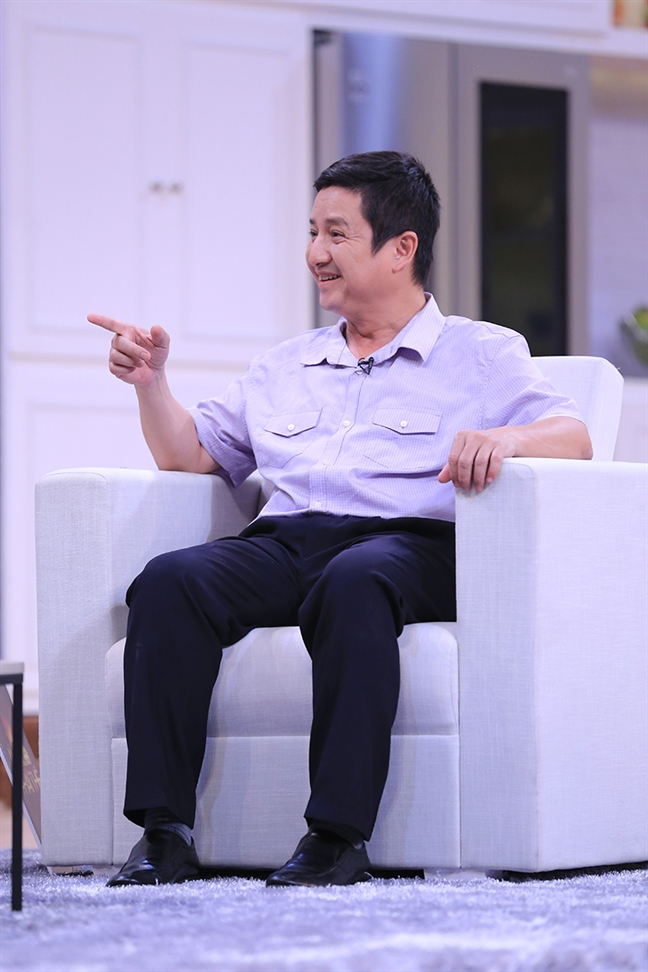NSUT Chi Trung: 'Lay vo la tu chung than khong an xa'