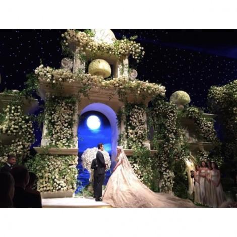 Những đám cưới xa xỉ nhất hành tinh khiến triệu người sửng sốt
