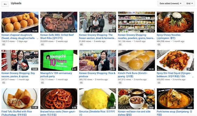 'Bi kip' hoc nau them mon an moi qua YouTube