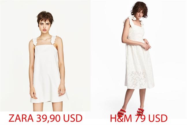Thiet ke giong nhau, nang nen chon H&M hay Zara?