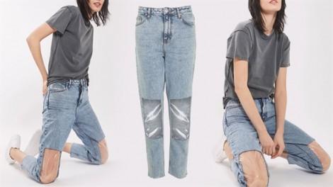 13 mẫu quần jeans có thiết kế không giới hạn của các nhà tạo mốt