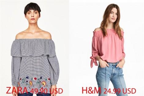 Thiết kế giống nhau, nàng nên chọn H&M hay Zara?