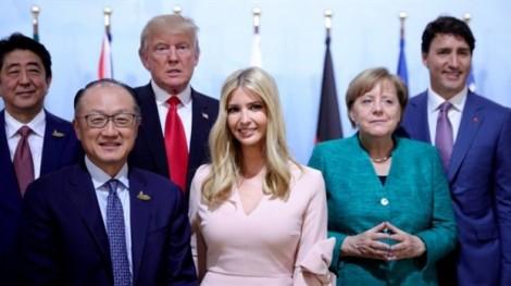 Ông Trump và con gái Clinton 'tranh cãi' về chiếc ghế của Ivanka ở G-20