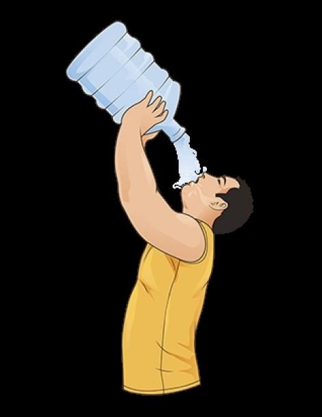 Uống nhiều nước gây loãng máu, suy thận?