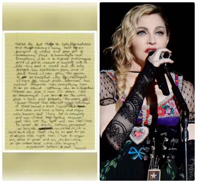 Lo buc thu Madonna de biu Whitney Houston va Sharon Stone
