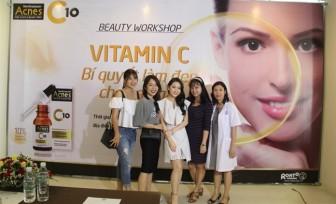 Vitamin C và bí quyết chăm sóc da sau mụn