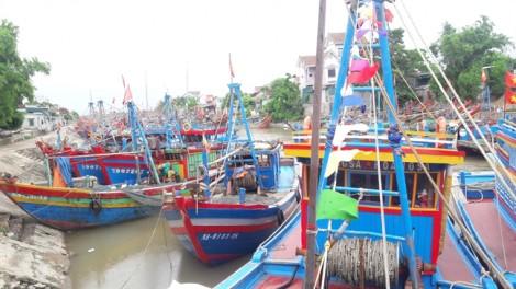 Ngư dân miền Trung hối hả vào bờ tránh bão số 2