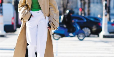 5 cách diện quần jeans trắng 'chất đến ngất'