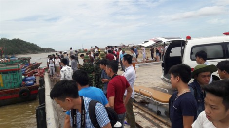 Phát hiện thi thể vụ chìm tàu Nghệ An làm 13 người mất tích