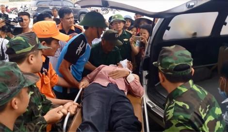 Vụ chìm tàu ở Nghệ An làm 13 người mất tích: Tìm thấy thi thể thứ 3