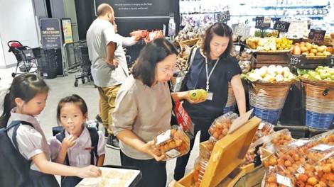 Siêu thị xuất khẩu hàng Việt: Hàng triệu USD nông sản 'đi' nước ngoài