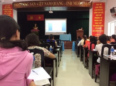 Huyện Hóc Môn: Tập huấn nghiệp vụ cho 130 cán bộ Hội