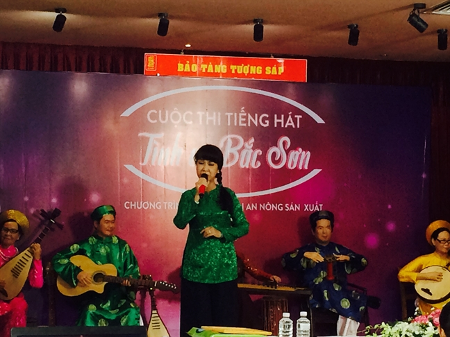 Tai hien tinh ca Bac Son tai Bao tang tuong sap nghe si Viet Nam