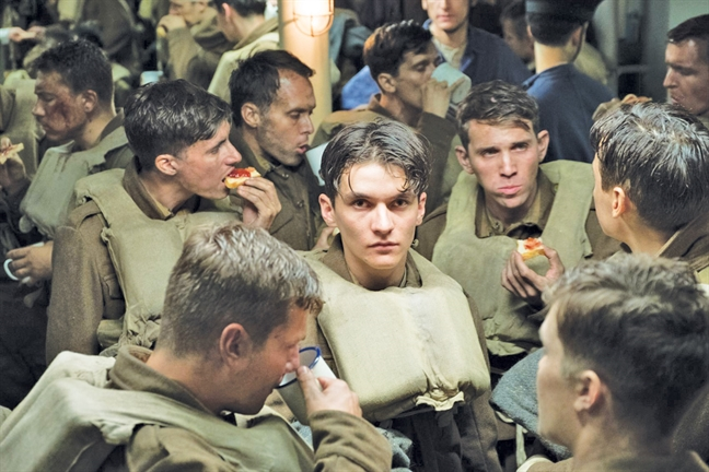 Dunkirk: Song sot la chien cong