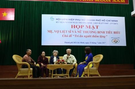 Hội LHPN TP.HCM: 250 phần quà cho nữ thương binh, gia đình chính sách