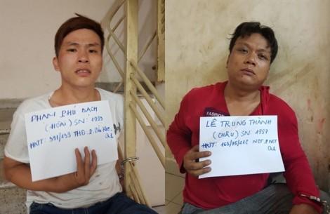 Hai tên cướp giật tài sản du khách nước ngoài, manh động chống trả công an