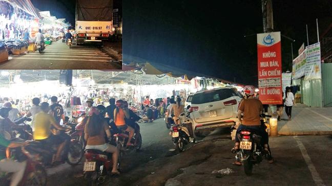 Q.Binh Tan, TP.HCM: Lai ngan duong lam... hoi cho