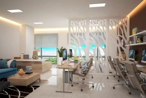 Văn phòng đa tiện ích hút khách khởi nghiệp