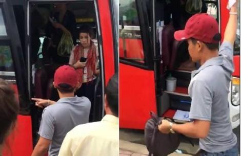 Sẽ thanh tra công ty, đình chỉ phụ xe đuổi du khách xuống đường ở Nha Trang