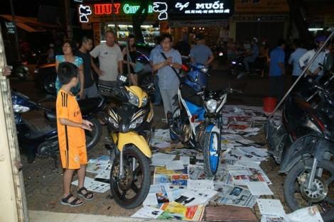 Quán trà sữa của Phạm Hương bị tạt sơn ngay ngày khai trương