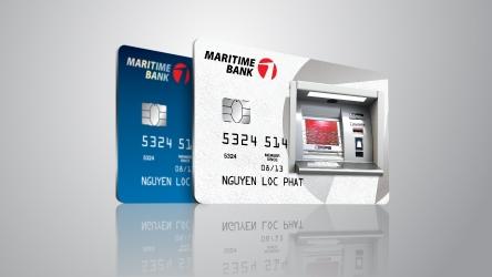 Ung tien mat tu The tin dung Maritime Bank voi phi 0 dong