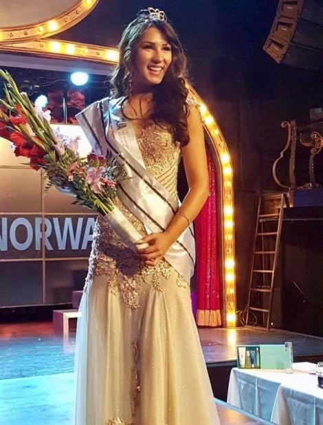Cô gái gốc Việt đăng quang Hoa hậu Na Uy