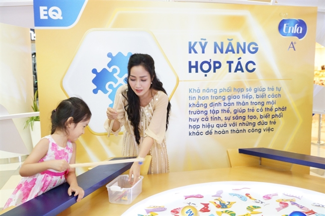 Oc Thanh Van: 'Toi chon dinh duong khoa hoc phu hop de giup con phat trien ca IQ lan EQ'