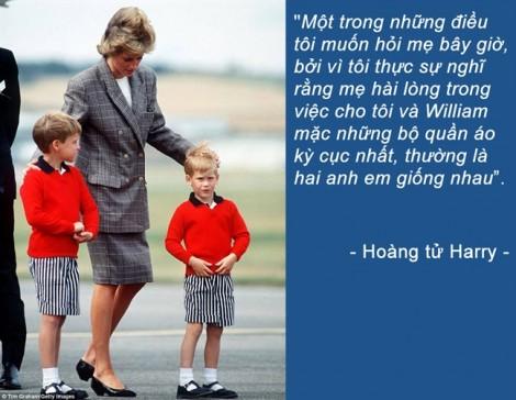 Tình yêu vô bờ của các hoàng tử Anh dành cho Công nương Diana