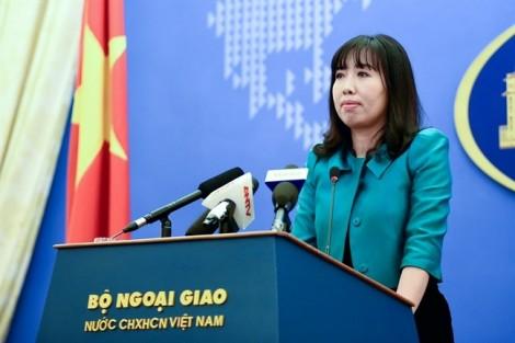 Việt Nam 'lấy làm tiếc' với phát ngôn của Bộ Ngoại giao Đức