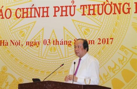 Thứ trưởng Hồ Thị Kim Thoa chưa được cho nghỉ việc vì đang bị xem xét điều tra