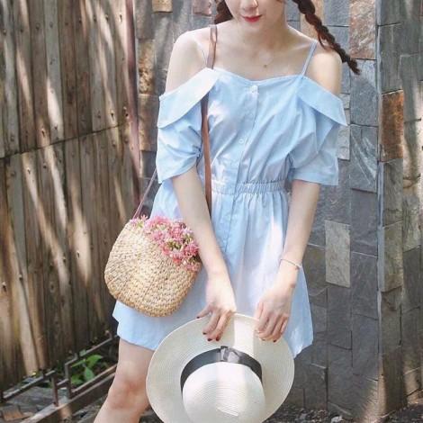 Giới trẻ Sài Gòn đua nhau 'lăng xê' thời trang túi cói vintage