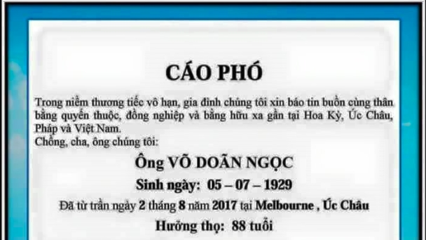 Chong dot ngot qua doi, ca si Phuong Dung tuc toc ve Uc chiu tang