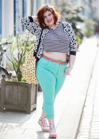 Những mẫu áo croptop giúp nàng béo trông thật gầy, luôn trẻ trung