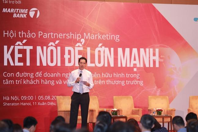 """Ket noi de lon manh voi """"Cong dong JOY- Maritime Bank"""""""