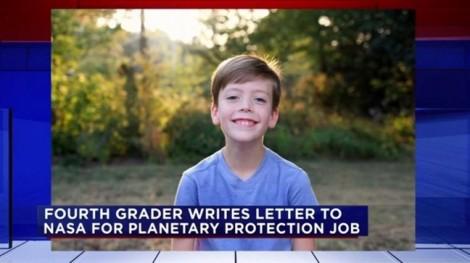 Đề nghị 'bảo vệ Trái Đất', bé 9 tuổi được NASA hồi đáp bất ngờ