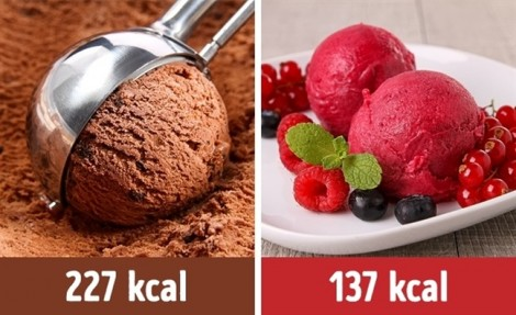 Giảm cân nhanh chóng với mẹo chọn thực phẩm thay thế ít năng lượng