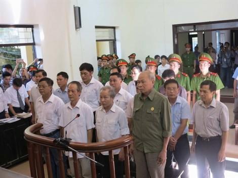 Các cán bộ xã Đồng Tâm bị đề nghị mức án từ 7-8 năm tù