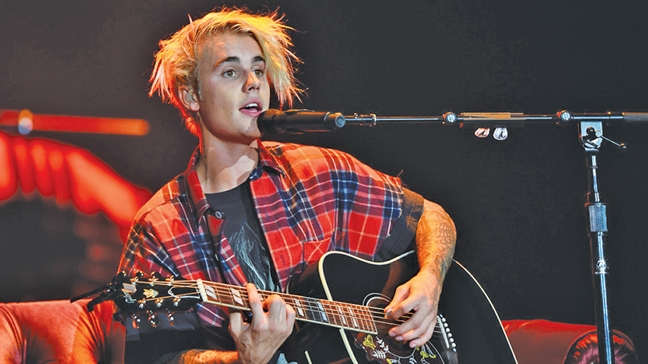 Justin Bieber: 'Mac ket' trong chinh ban than minh