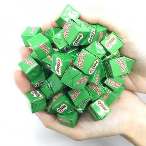 Xuất hiện kẹo cube sữa, cube Milo 'siêu dễ thương' được chị em săn đón