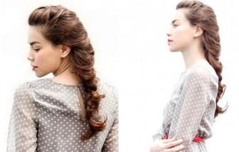 Các kiểu tóc tết đơn giản mà đẹp khiến phụ nữ quyến rũ, gợi tình